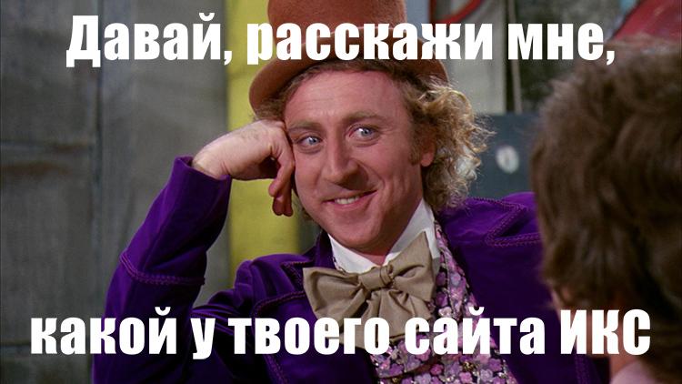 Показатель ИКС Яндекса - Индекс Качества Сайта